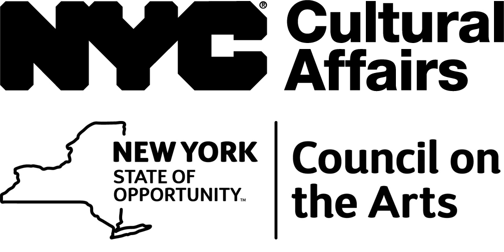 NYC Department of Cultural Affairs and NY State Council on the Arts Logos