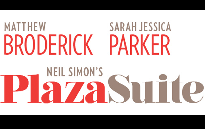 Matthew Broderick and Sarah Jessica Parker star in Neil Simon's Plaza Suite.